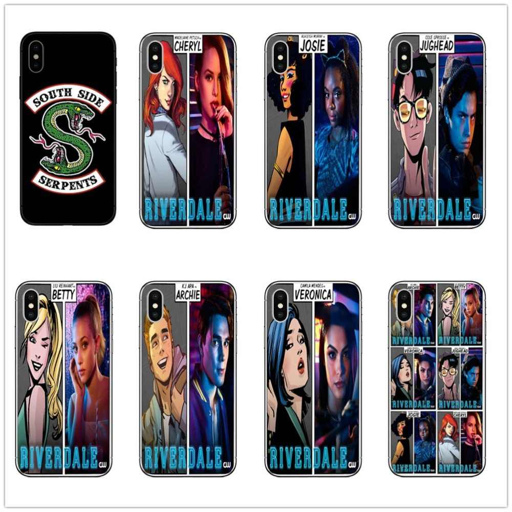 American TV Riverdale Jughead Jones Woz Here Hard pc Case Cover For apple iPhone 5 5S SE 6 6S 7 8P Plus X XR XS MAX josie cheryl