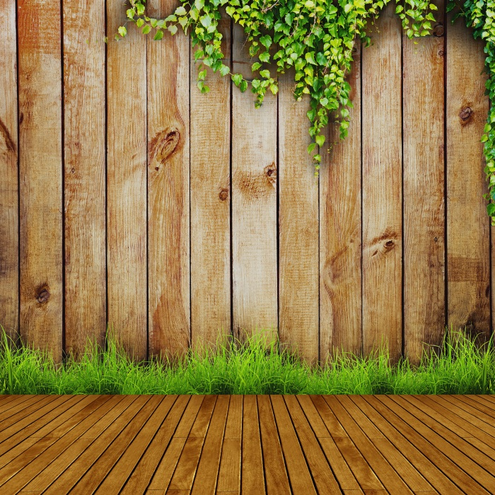 Laeacco Green Vines Wooden Boards Planks Baby Newborn