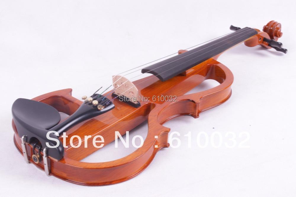 orange color 4/4 Electric Violin Solid wood 8 --6# silvery  orange   color  4 string 4 4 electric violin solid wood 4 1 silvery blue red color 4 string