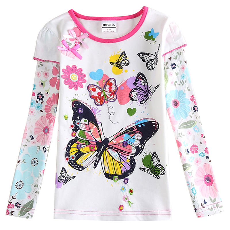 2 Designs Baby Clothes Nova Baby Clothing Girls T Shirts T