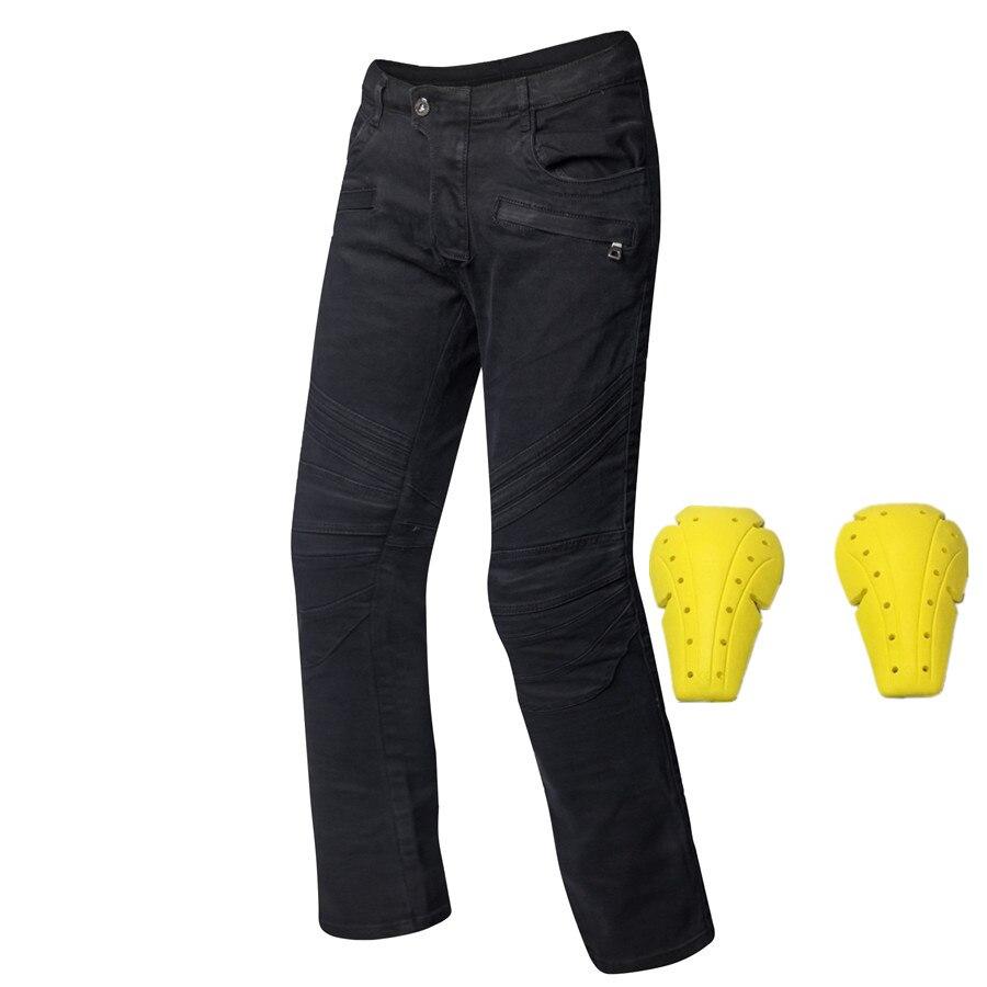 Black mens motocross pants wearable motorcycle jeans moto pants windproof protectie pantalon para motocicleta motorcycle jeans