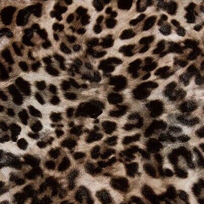 Modern Imitation Animal Fur Leopard Wallpaper Pvc Bedroom Living Room Decor  Pvc Waterproof Wallpaper Panther Print