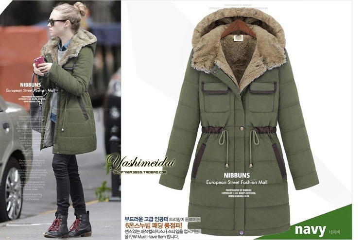 2016 New Brand Thickening Cotton Winter Jacket Women Plus Size Coat Fur Hooded Coats Casual Parka