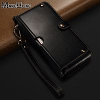 Genuine Leather Handbag Case For iPhone XS Max XR Wallet Pouch Universal Strap Multipurpose Phone Bag Cases For iPhone XR XS Max