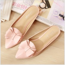 Big size 33-43 Summer Ladies Flat Slipper casual shoes woman 2018 Mules shoes Outside slippers Low heels Female footwear A1-5