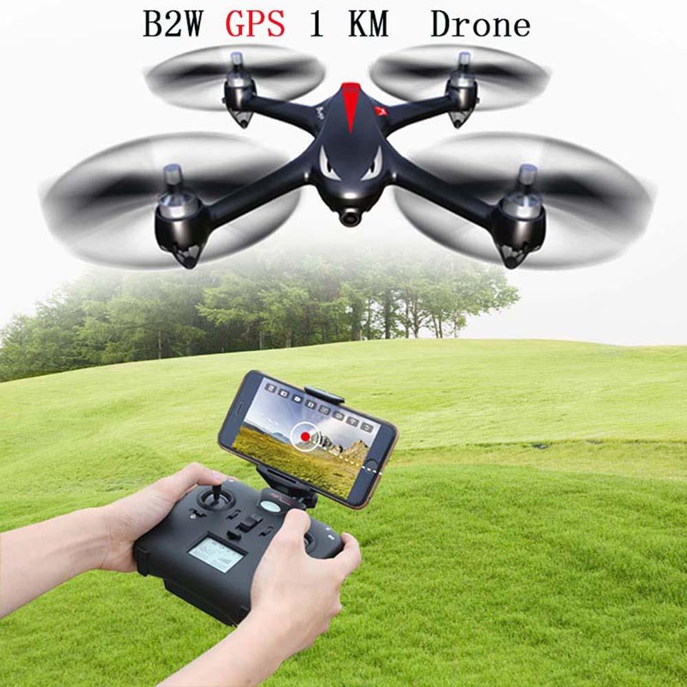 MJX ошибки 2 Вт B2W RC Quadcopter безщеточный Радиоуправляемый Дрон с 5 г WI FI FPV 1080 P HD Камера rc вертолеты VS H501S RC игрушки