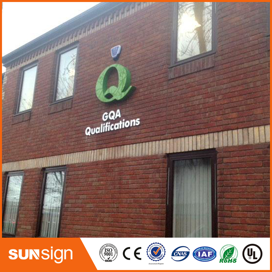 Outdoor Stainless Steel 3d Channel Letters For Shop