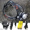 8000 lumen LED Headlamp  XML T6+2R5 4-mode LED Headlight Head Lamp Light torch for fishing Lights