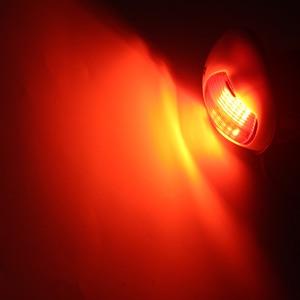 Image 5 - 1 пара, 12 В, Морская Лодка, яхта, СВЕТОДИОДНЫЙ Лук, навигасветильник, красный, зеленый, звездный свет/свет порта