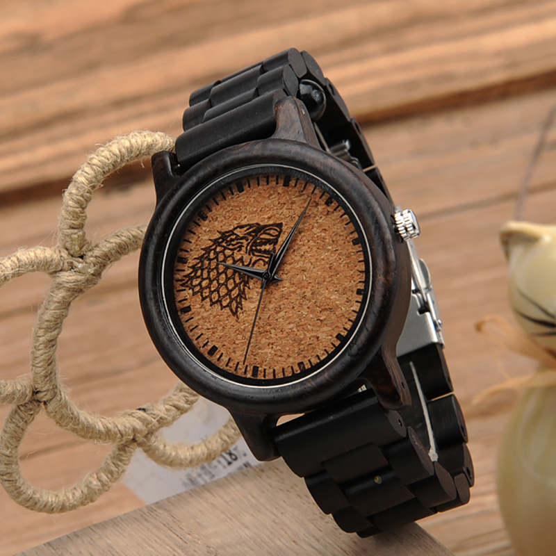 Wood Game Of Thrones Wrist Watches Free Shipping Worldwide