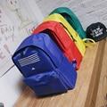 Harajuku ulzzang estilo Preppy lona ocasional mochila BIGBANG GD School Youth tendência tarja mochila para meninos das meninas