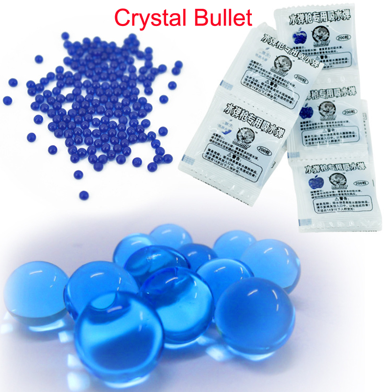2000 Pcs 11mm Soft Crystal Bullet Water Gun Paintball water Bullet Orbeez Gun Toy Air Pisol Toy for Boy Children Kids