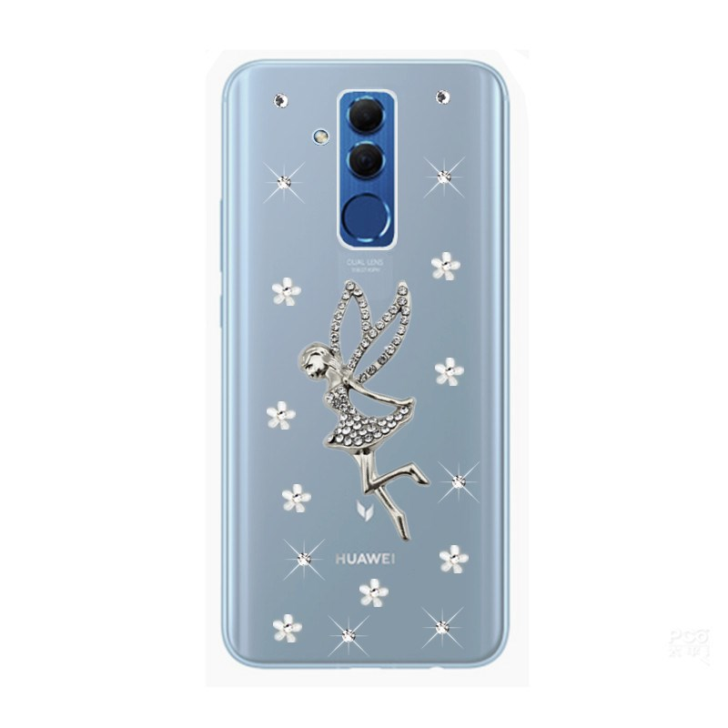 For Huawei Mate 10 20 Lite Case Cover Funda Phone Back Hybrid Bumper Mate 20 10 9 Pro Case For Honor 8 9 Lite 10 View 10 Case