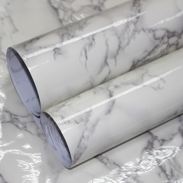 Haokhom Marble Peel And Stick Wallpaper For Wall 3d Contact Paper