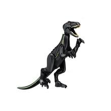 Jurassic Dinosaurs World 2 Carnotaurus Indominus Rex I-Rex Velociraptor Building Blocks Bricks Baby toys Compatib