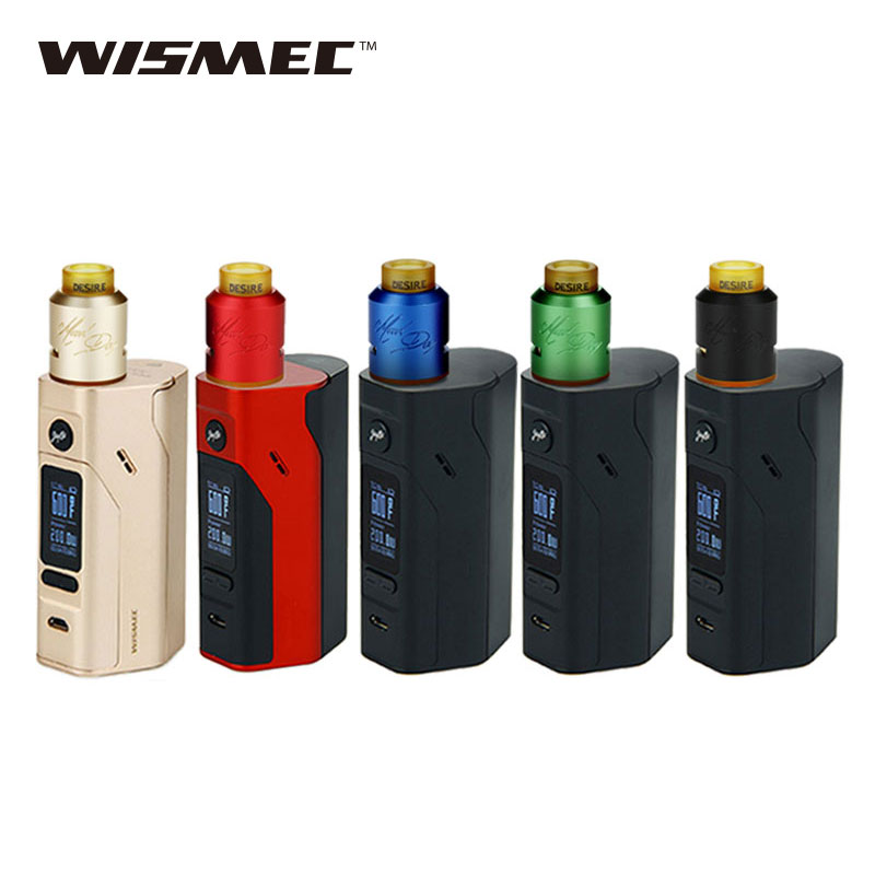 Original Wismec RX2/3 TC Mod Kit for Desire Mad Dog RDA Atomizer 150w/200W Reuleaux Mod Vs RX23 BOX Mod Electronic Cigarette termica ан 3 200 tc