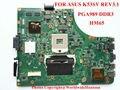 Mainboard Original para Asus X53S A53S K53SJ P53S K53SC K53SV laptop motherboard REV3.1 HM65 DDR3 PGA989 GT520M 1 GB totalmente testado