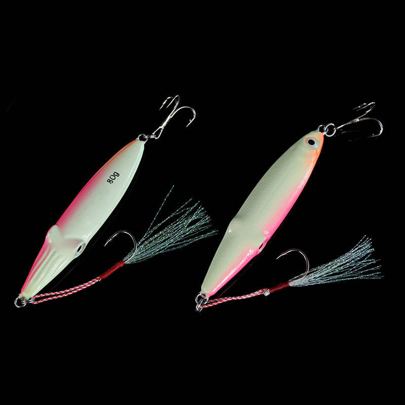 Saltwater fishing bait lure long lasting glow in dark for Glow in the dark fishing lures
