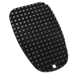 """Image 2 - 1pc Motorcycle Black Plastic Kickstand Side Stand Plate Pad Base 3/16"""" Small Hole For Cruisers Sport/Dirt bikes"""