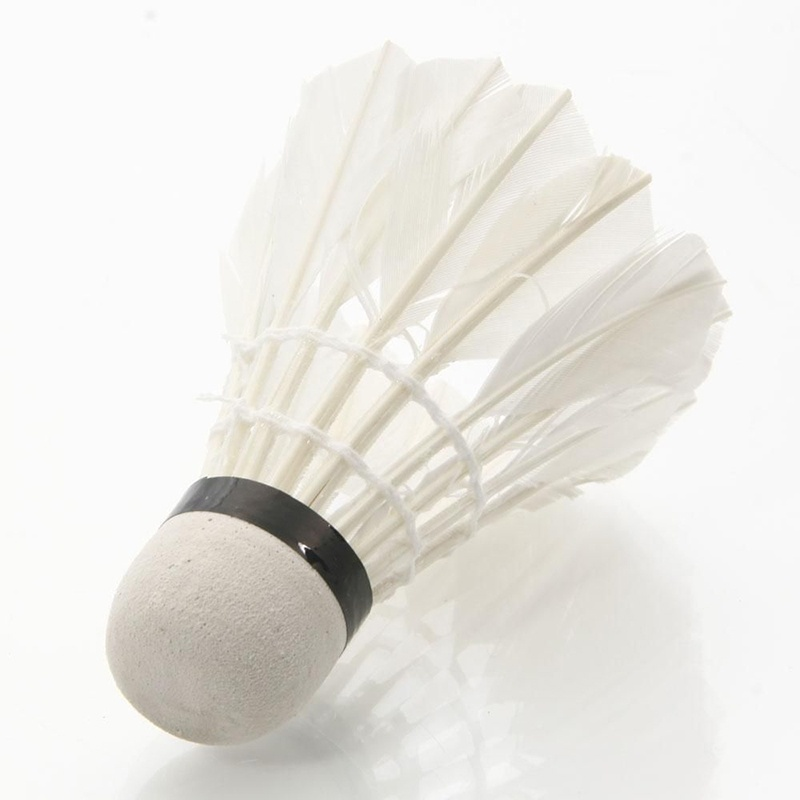 10 Pcs Professional Badminton Balls Shuttlecocks White Goose Feather  1