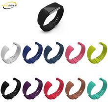 hot deal buy kingbeike 10 colors sport silicone watchband for fitbit charge 2 fitbit bracelet band smart wristbands watches accessories strap