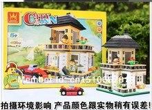 Wange City Creation Villa 31051 Building Blocks Sets 405pcs Educational DIY Bricks Toys For Children Christmas Gift