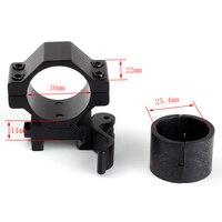 ยุทธวิธีอุปกรณ์เสริมขอบเขต25.4มิลลิเมตร30มิลลิเมตร2ชิ้นรายละเอียดต่ำ20มิลลิเมตรPicatinnyประกอบตัด...