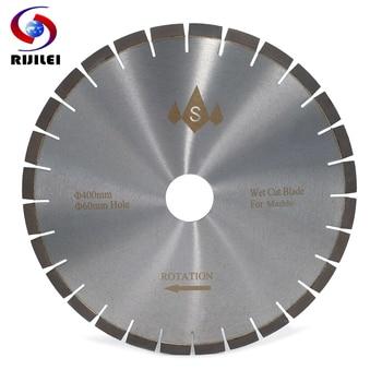 цена на RIJILEI 400MM Silent Marble Diamond Cutting Saw Blades cutter blade for marble stone Sharp cutting circular Cutting Tools