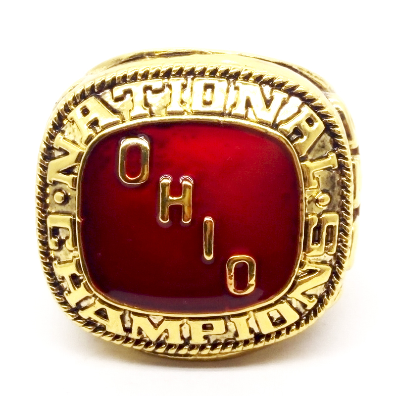 High quality 1968 ohio state buckeyes national championship ring drop shipping