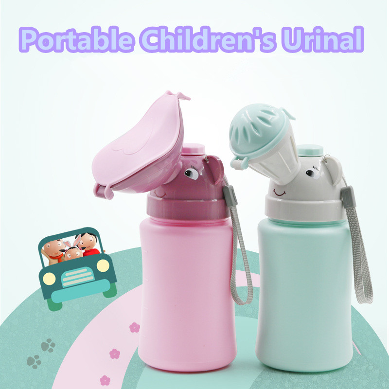 Portable Convenient Urinal Toilet Potty For Baby Girl Boy Travel Cute Baby Urinal Kids Potty Car Toilet Vehicular Travel Urinal