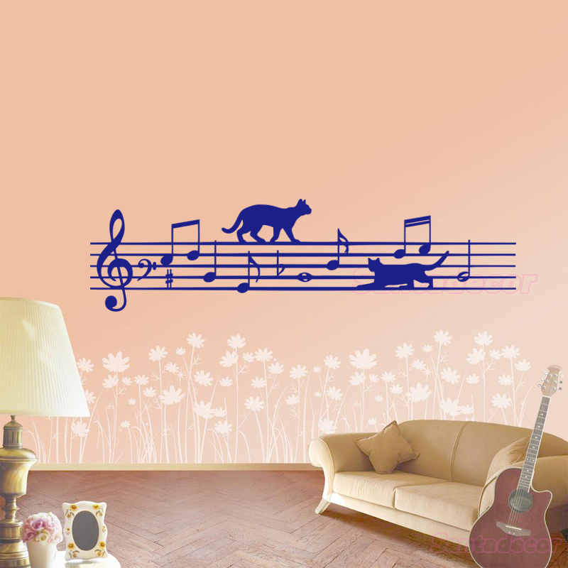 Personality Creative Interest Pet Stickers Modern Art Design PVC Sticker Decoration for Home Car Window Bumper Laptop PINEsong Window Wall Stickers Funny Cute Pet Cat Stickers