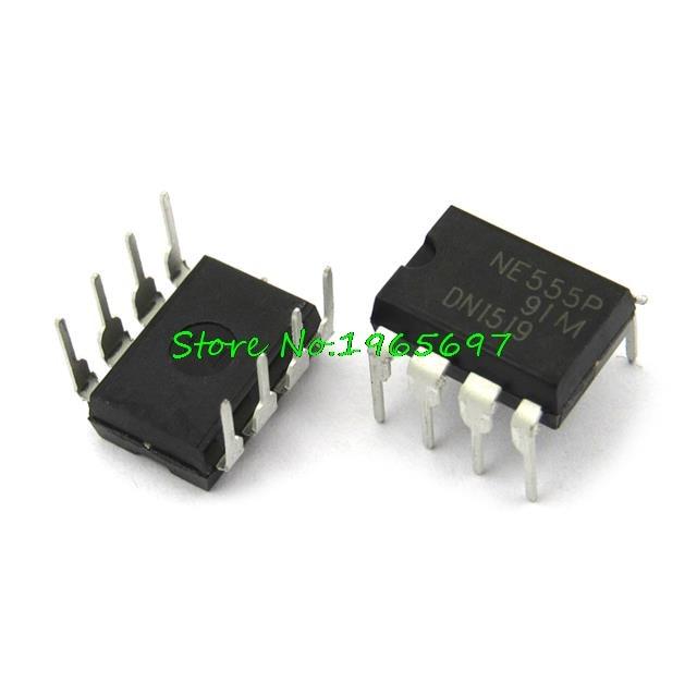 10pcs/lot NE555P NE555N NE555 DIP-8 New Original In Stock