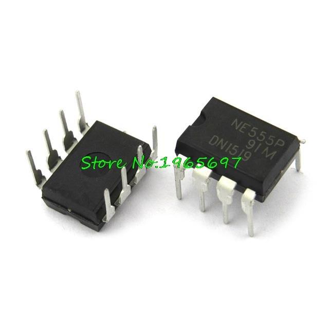 10pcs/lot NE555P NE555N NE555 DIP-8 New OriginalIn Stock