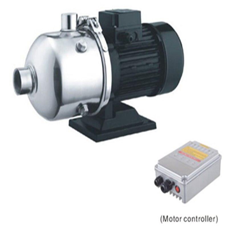 Pompe à eau centrifuge de Surface de pompe à eau Simple de cc 72 v avec le contrôleur 100% de fonction de MPPT testant le modèle de puits SCPW8/70-D72/1000