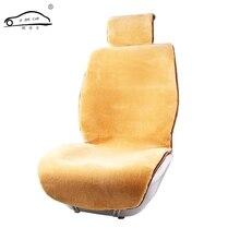 Fornecimento de Novo Carro inverno Almofada de pelúcia Curto/Tampa de Assento Do Carro de Pelúcia Almofada Do Assento de Lã Tapete