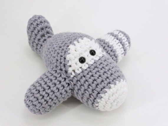 Amigurumi Pattern Crochet - Airplane & Cat -   428x570