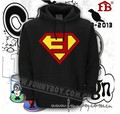 new 2017 free shipping to brazil hip hop rap Anti E EMINEM Slim Shady superman male man men pullover hoodies