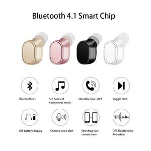 Image 2 - KEBIDU X12 Bluetooth casque mini sans fil écouteur Portable USB magnétique charge casque Sport oreillette casque pour iPhone 8X7