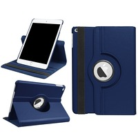 TODKAI For New IPad 2017 Case 360 Degree Rotating Litchi Leather Stand Flip Case For IPad