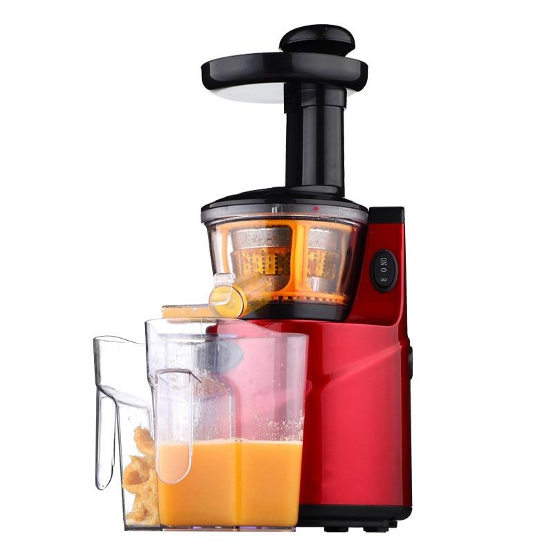 250W Slow Juicer Fruit Vegetable Citrus Low Speed Juice Extractor Juicers Fruit Drinking Machine household electric juicer fruit juice maker machine automatic vegetable low speed extractor mixer