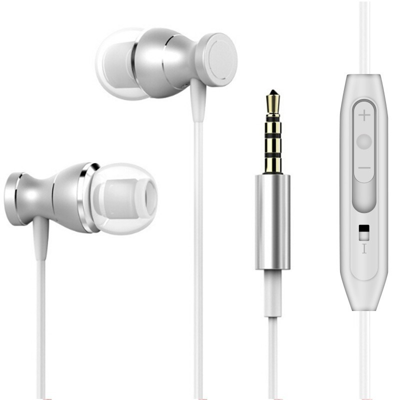 High Quality Music Earphone For Alcatel U5 4G 5044[DY] Earbuds Earpieces  Earphones Headsets Mic