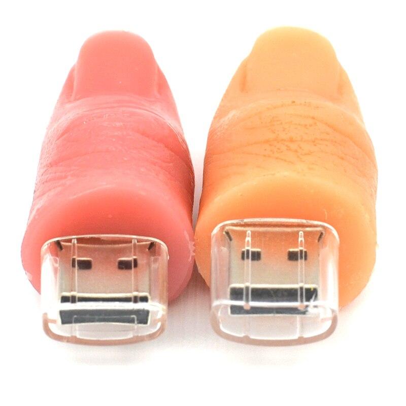 stilolaps model karikaturë e një gishti njerëzor 8 GB 16GB 32GB 64 - Memoria e jashtme - Foto 2