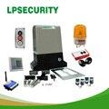 LPSECURITY автоматические раздвижные ворота открывалка двигатель для ворот до 800 кг (фотоэлементы, кнопки, лампы, клавиатуры, GSM ворот опциональн...