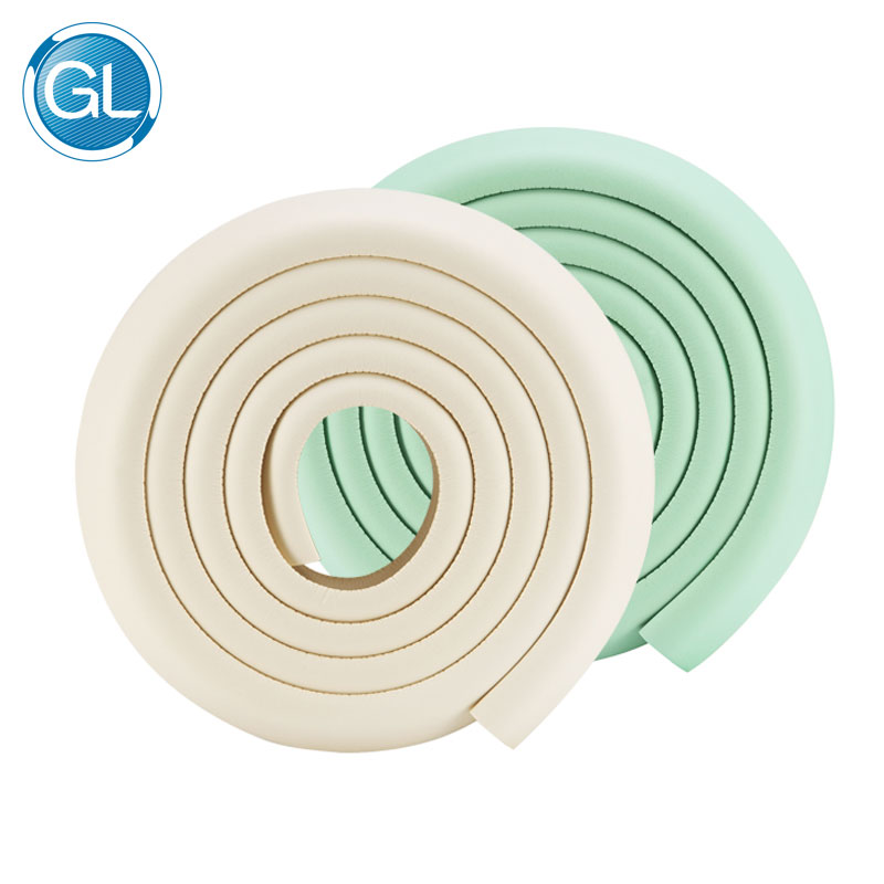 GL 2pcs Baby Anti-Crash Protector Strip 4M Furniture Edge Corner Stopper Table Protective Cushion Kids Safety Guard Protection