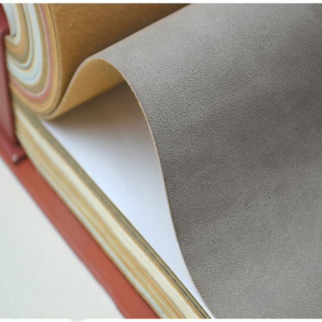 Top Quality Good Dry Suede Imitated Cowhide Material Handmade Diy Leather Frosted Microfiber Sofa Fabric