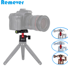 New Aluminum Alloy Ball Head Gimbal with 1/5inch Screw for Canon Nikon DSLR Cameras Tripod Base Mounts