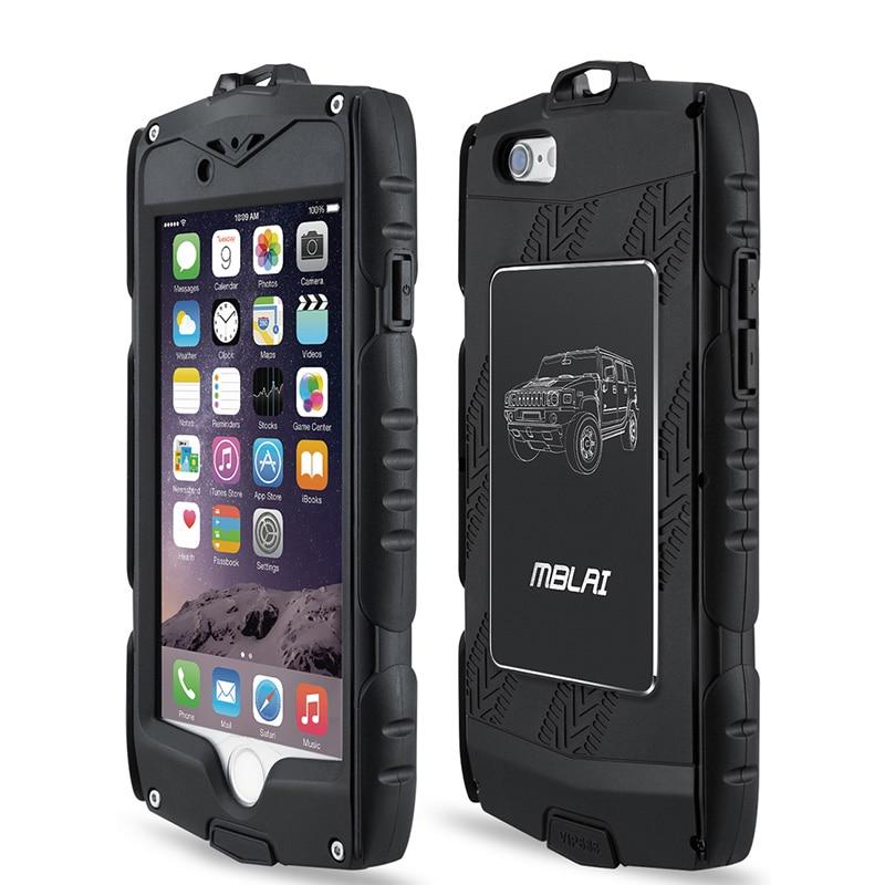 imágenes para Heavy Duty Armour Cubierta A Prueba de Golpes Caso para el iphone 6 6 s con Una Función de Protector de Pantalla de la Protección Completa Del Cuerpo