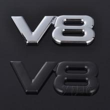 Auto Badge Emblem-Decal Emblem-Styling-Accessories Car-Sticker Engine V8 Logo Ford Nissan
