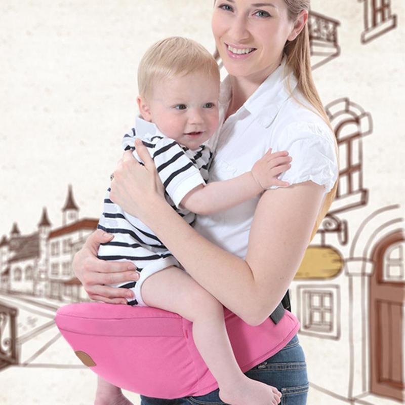 Portador del taburete de la cintura del beb/é Asiento del taburete del asiento ajustable de la cadera Portador del asiento de la cintura del beb/é por 0-24 meses Beb/é reci/én nacido