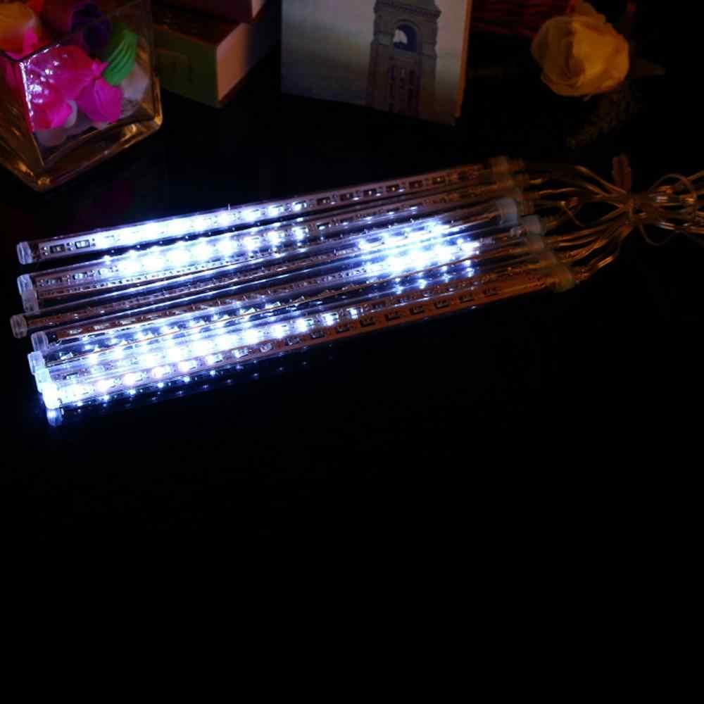 8P 30 см мини светодиодный метеорный поток Сказочный свет 144 светодиодный